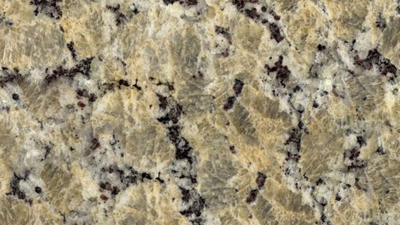 Yellow Butterfly Granite Counte